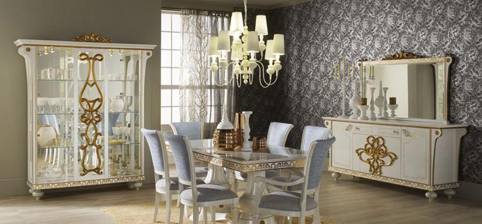 Lampen, Möbel und Dekorationen