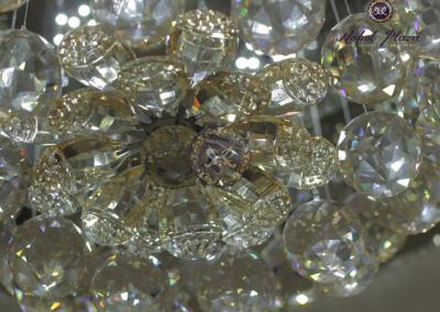 Kristallkugel Mitte